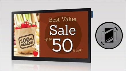 Monitory Reklamowe do reklamy