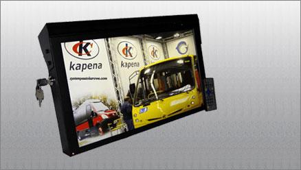 Monitory Reklamowe do autobusu