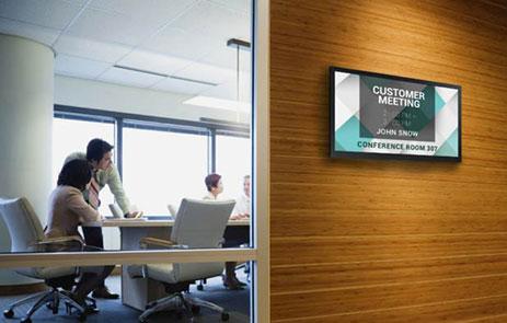 sala konferencyjna monitor