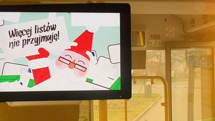Monitory Reklamowe do Autobusów